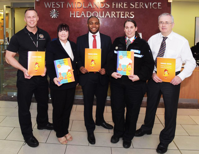 BIRMINGHAM BOOK LAUNCH TO INTRODUCE NEW HEROES OF ROAD SAFETY FOR CHILDREN