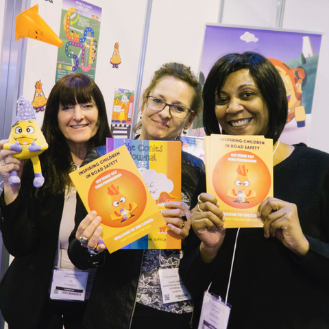 NEW ROAD SAFETY BOOK TO FEATURE AT EDUCATION SHOW