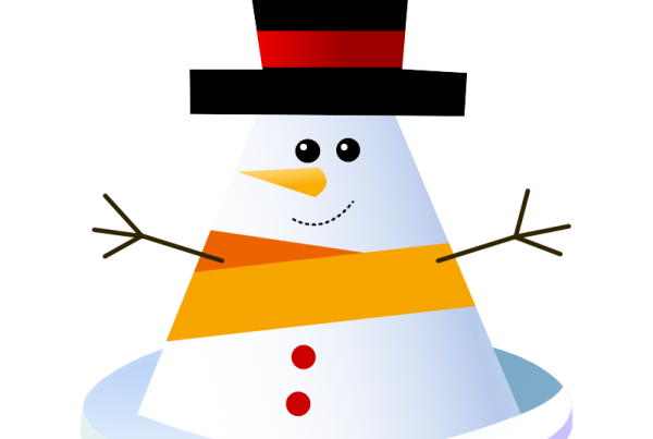 snowman stay safe in the snow