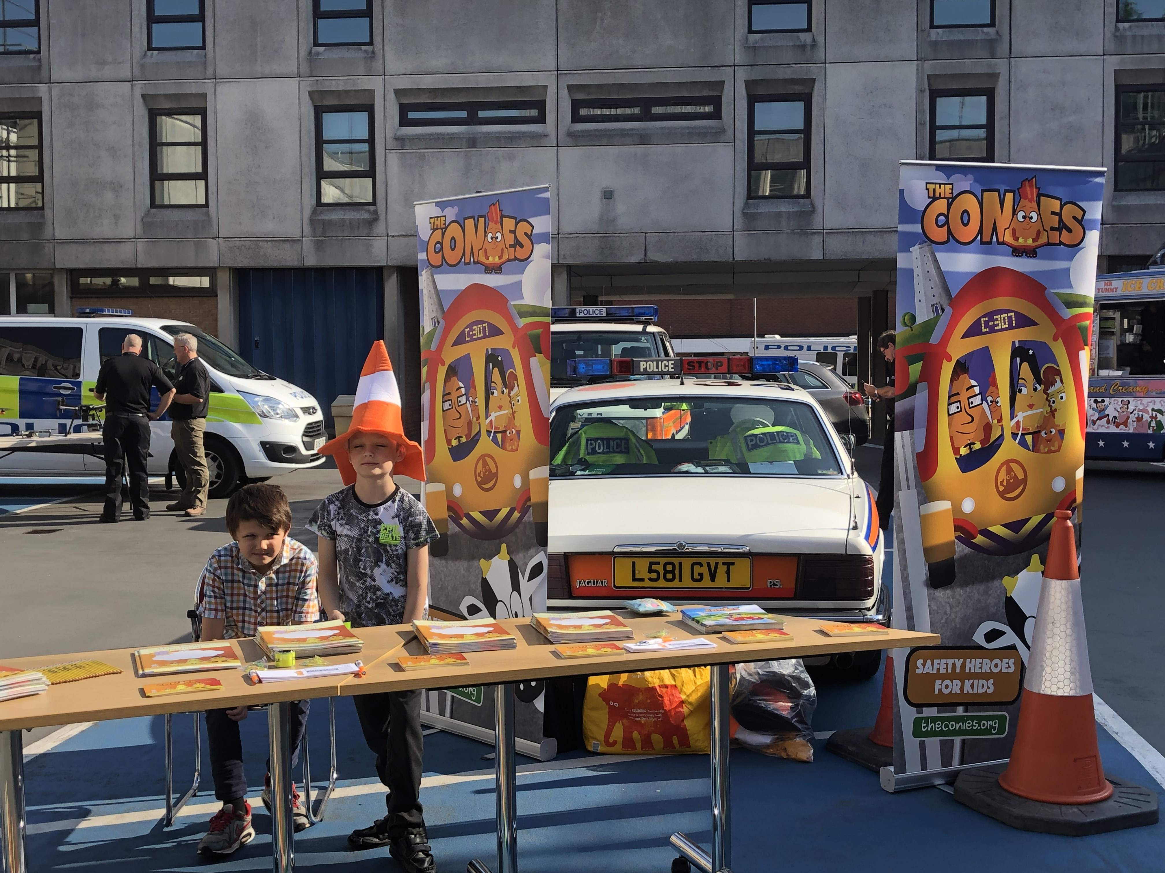 SOLIHULL POLICE CHILDREN'S SAFETY EVENT